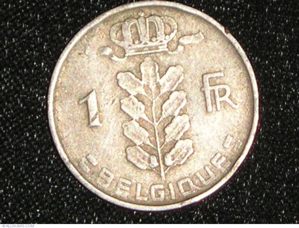 1 Franc 1952 Belgique