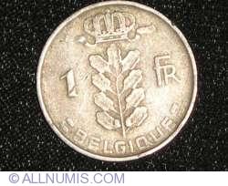 Image #1 of 1 Franc 1952 Belgique