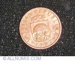 Image #2 of 1 Santims 1997
