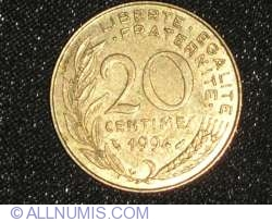 Image #1 of 20 Centimes 1994