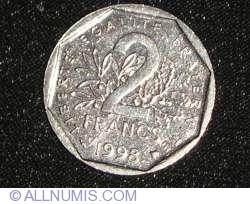 Image #1 of 2 Francs 1998
