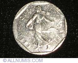 Image #2 of 2 Francs 1998