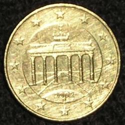 10 Euro Cent 2002 D