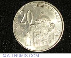 Imaginea #1 a 20 Dinari 2003