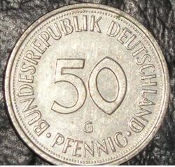 Imaginea #1 a 50 Pfennig 1993 G