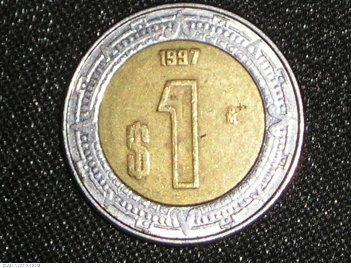 1 Peso 1997 United Mexican States 1991 2000 Mexico