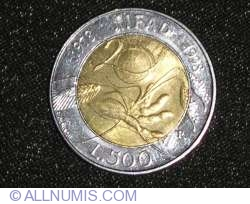 500 Lire 1998 - International Fund for Agricultural Development (IFAD)