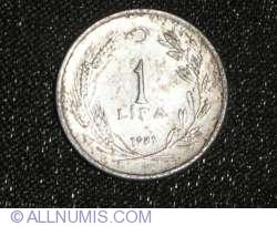 Image #1 of 1 Turkish Lira 1981
