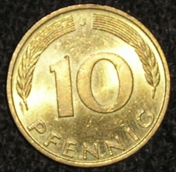 Image #1 of 10 Pfennig 1995 J