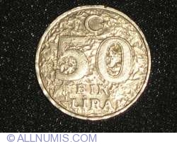 Image #1 of 50000 Turkish Lira 1996