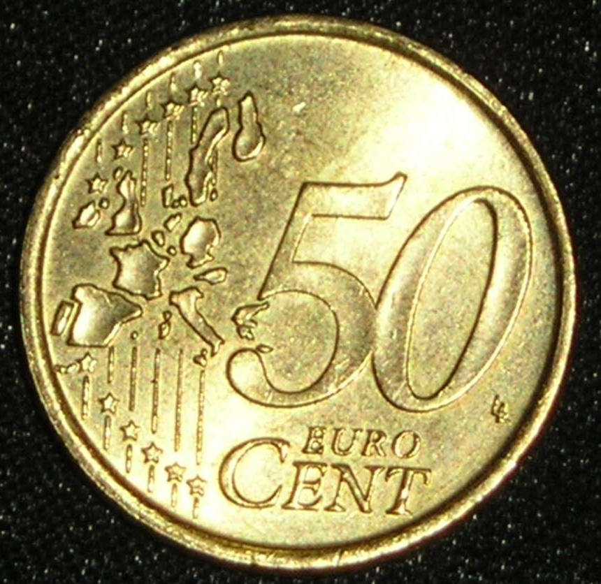 50 euro cent 2002 euro 2002 50 euro cent italy. Black Bedroom Furniture Sets. Home Design Ideas