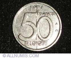 Image #1 of 50 Francs 1994 (Belgique)