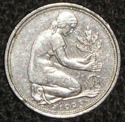 Imaginea #2 a 50 Pfennig 1993 D