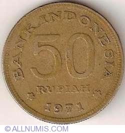 Image #1 of 50 Rupiah 1971