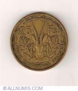 Image #2 of 25 Francs 1956