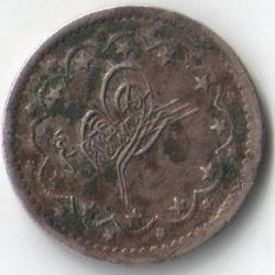Image #2 of 5 kuruş 1861 (AH 1277/1)