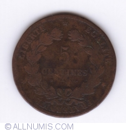 Image #1 of 5 Centimes 1874 K