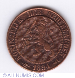Image #2 of 2 1/2 cent 1894