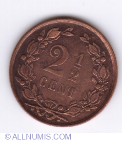 Image #1 of 2 1/2 cent 1894