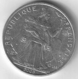 Imaginea #2 a 5 Francs 2003