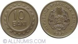 Imaginea #1 a 10 Bani 1960 20 de dinti