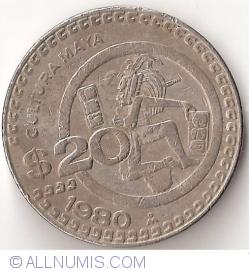 Imaginea #2 a 20 Pesos 1980