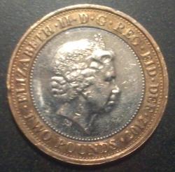 Image #2 of 2 Pounds 2012 - Aniversare de 200 ani de la nasterea lui Charles Dickens