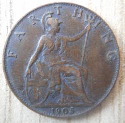 Image #2 of Farthing 1905