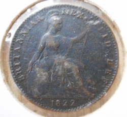 Image #2 of Farthing 1822