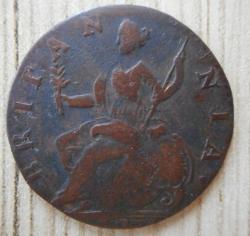 Imaginea #2 a Halfpenny 1773