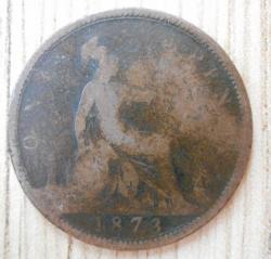 Penny 1873