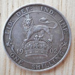 Imaginea #2 a Shilling 1902