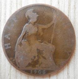 Image #2 of Halfpenny 1905