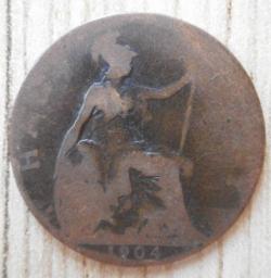 Image #2 of Halfpenny 1904