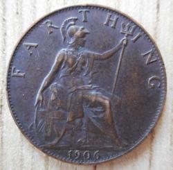 Image #2 of Farthing 1906