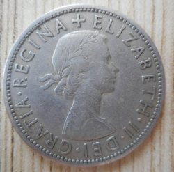 Image #1 of 1/2 Crown 1954