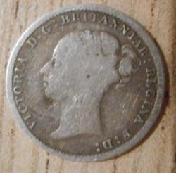 Threepence 1881