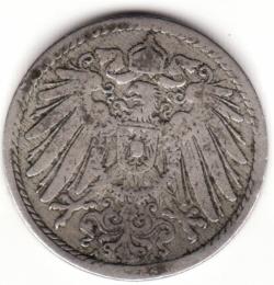 Image #2 of 5 Pfennig 1890 A