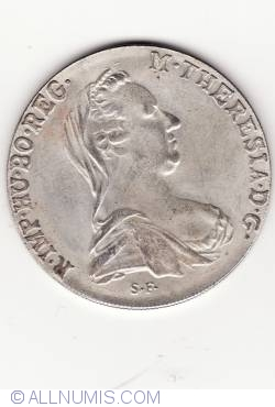 [COUNTERFEIT] 1 Thaler 1780 - Not made of silver