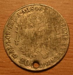 Image #1 of 20 Kreuzer 1846 E
