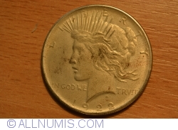 Image #2 of [COUNTERFEIT] Peace Dollar 1922