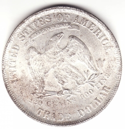 Trade Dollar 1871 [COUNTERFEIT]