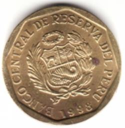 Image #2 of 5 Centimos 1998