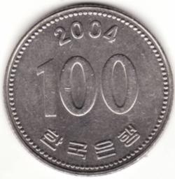 Image #1 of 100 Won 2004