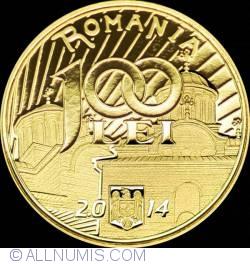 Image #1 of 100 Lei 2014 - 650 years since the start of Vladislav I Vlaicu's reign
