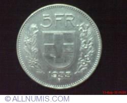 Image #2 of 5 Francs 1933