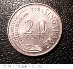 20 Cents 1984