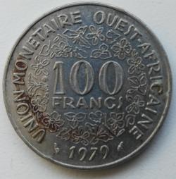 100 Francs 1979