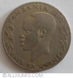 Image #2 of 1 Shilling 1972