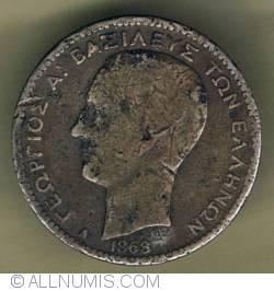 Imaginea #1 a 1 drachma 1868
